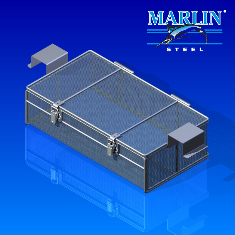 Marlin Steel Wire Basket 2123001