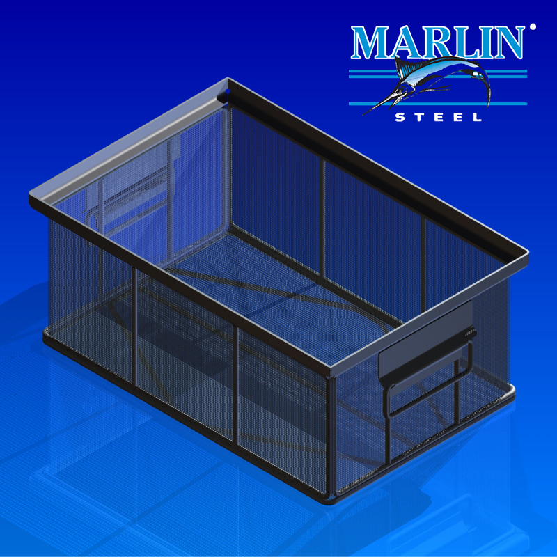 Marlin Steel Wire Basket 2076001