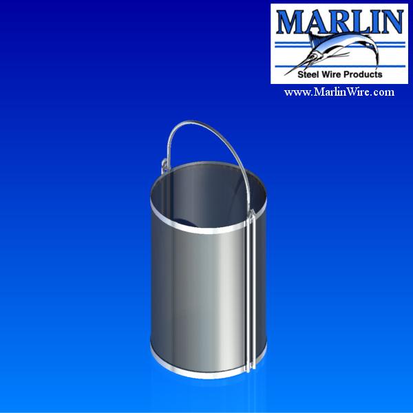 Marlin Steel Round Basket 790001