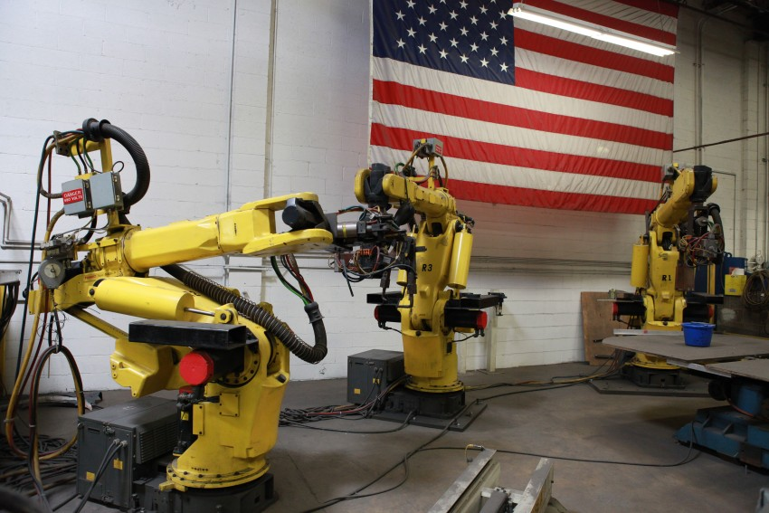 The Rise of Manufacturing Jobs in America, even with Robotics
