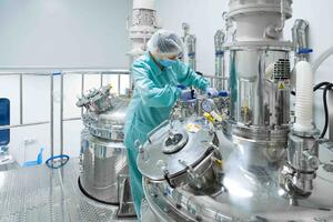 Sterility is easier to maintain in a facility that uses electropolished stainless steel equipment.