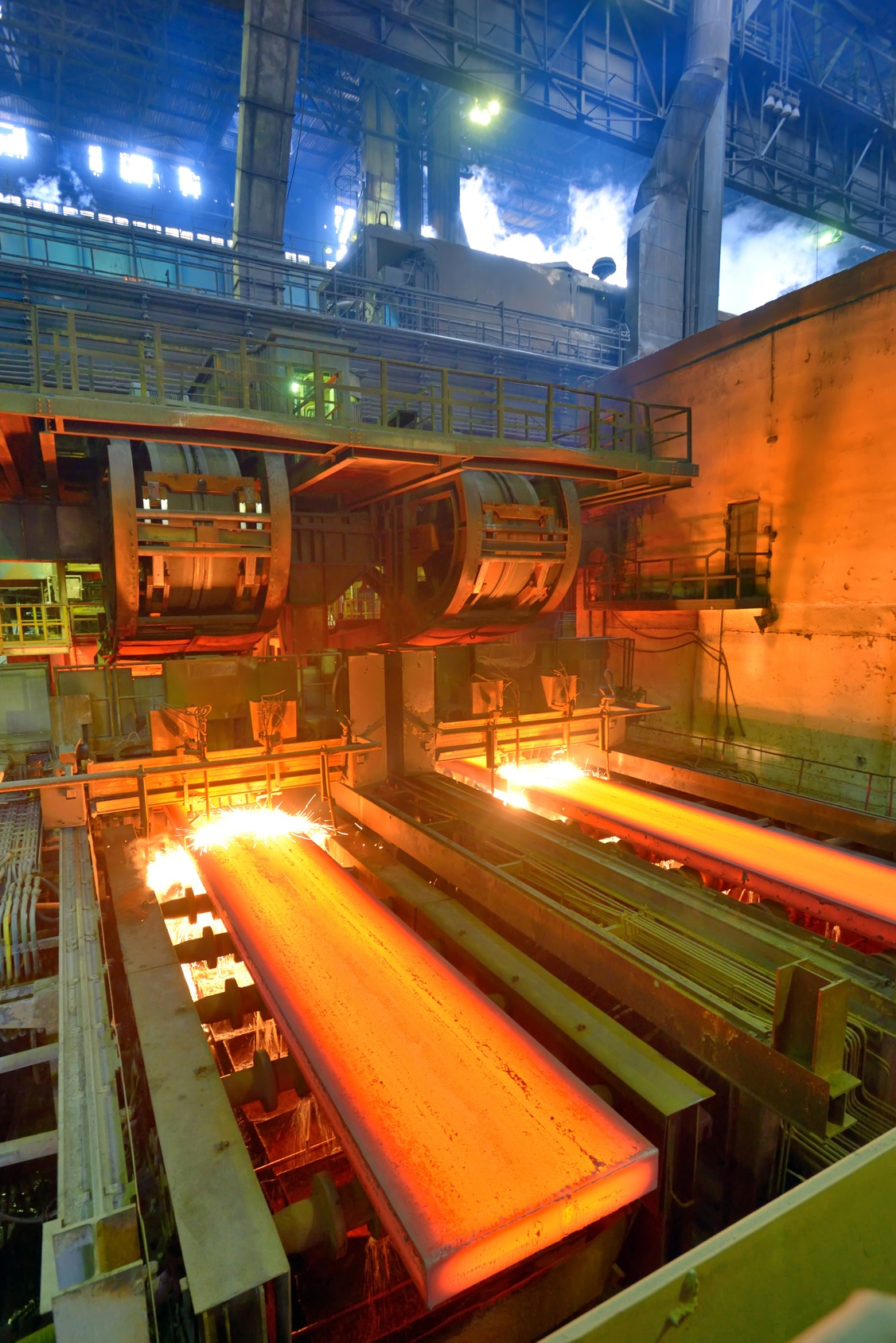 When steel is red-hot, it usually means that the tensile strength of the steel has been compromised.