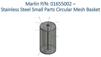 stainless-steel-small-parts-circular-mesh-basket-gun-manufacturing