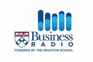 The Wharton School's Business Radio Icon.