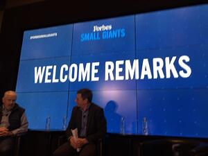 Forbes Small Giants roundtable discussion
