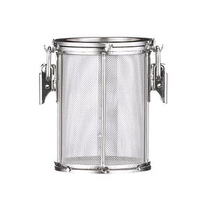 Custom wire basket round mesh basket with lid