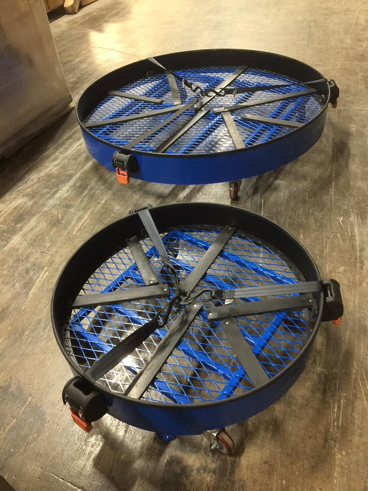 These circular floats were engineered to be the ideal solution to your aircraft engine handling and maintenance needs.