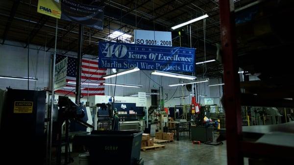Marlin's factory floor