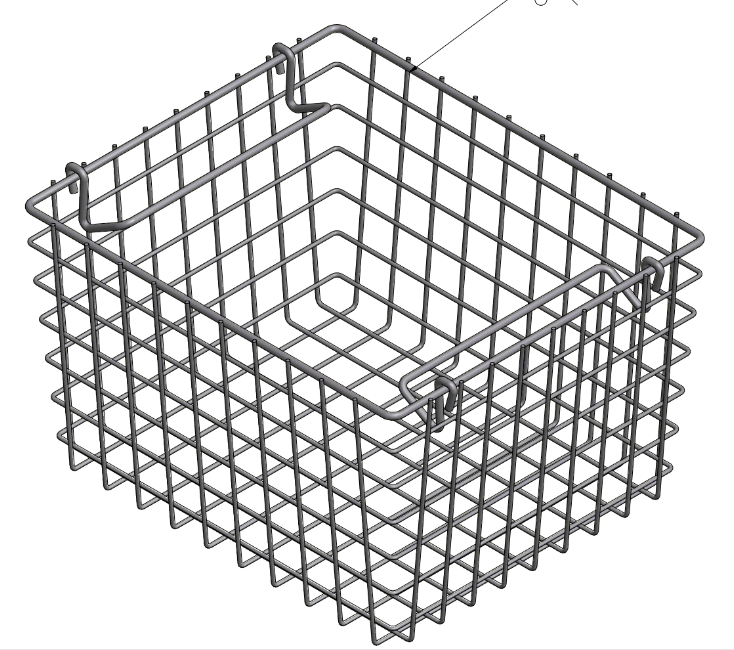 Oyster Basket for harvesting oysters from the ocean.