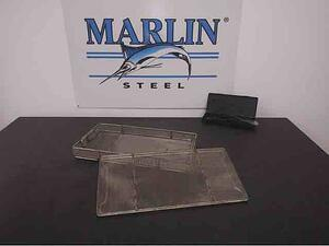 This lidded medical tray is one of many different custom pharmaceutical wire forms Marlin has made over the years.