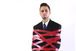 Excessive red tape can restrict your company's ability to act and make progress.