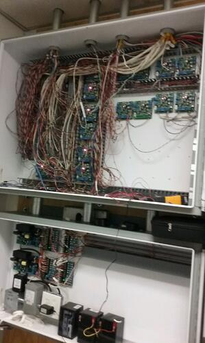 Previously, the client had cluttered, messy junction boxes that were harder to access and service.