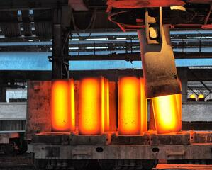 Inconel is generally ideal for extreme temperature applications such as heat treatment or even forging other metals.