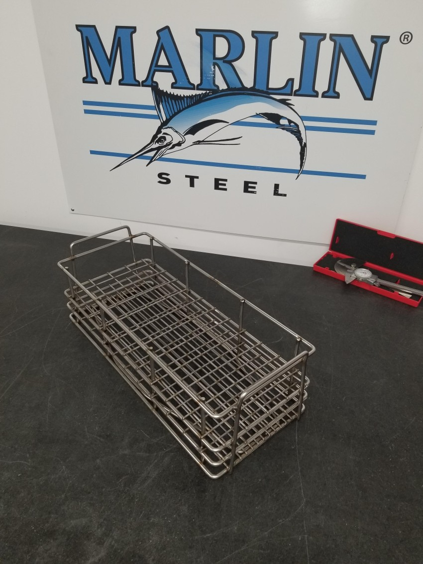 One of several variant baskets that was designed to meet an automotive client's needs.