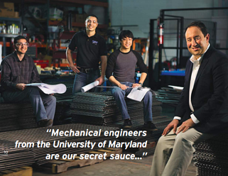 Our employees are the secret ingredient in Marlin Steel