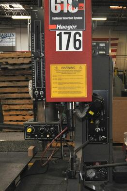 The Haeger Insertion Machine is Providing Marlin Steel with Safety Automation