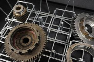 Gears can come in all shapes and sizes, so Marlin's engineers needed specific information before designing a basket.