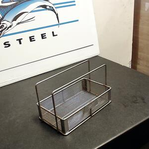 This stainless steel basket is made with grade 316 SS alloy for enhanced resistance to chlorides.