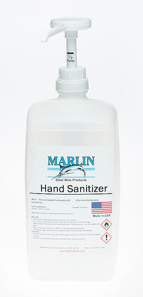 marlin steel liquid hand sanitizer