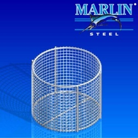 Wire mesh baskets have a lot of open space, providing great air flow.