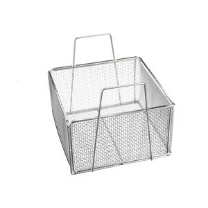 This kind of large, open basket can easily be turned into a modular basket solution with custom inserts.