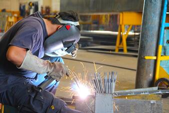 Traditional welding slows down your manufacturing process