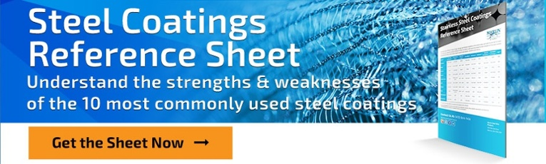 Stainless Coatings Reference Sheet