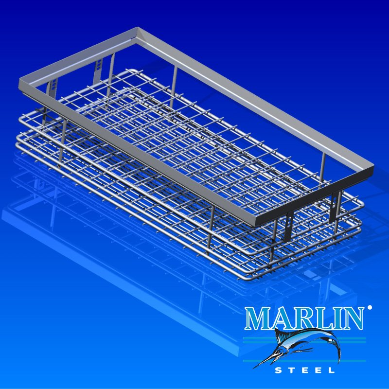 Marlin Steel Wire Basket 689040