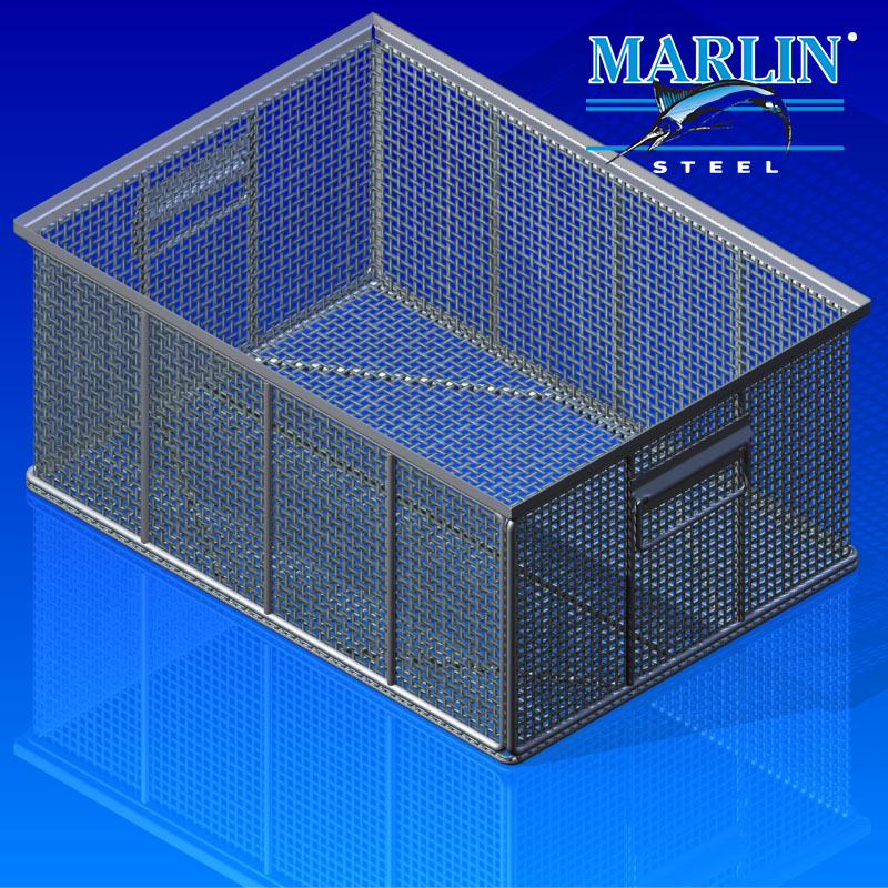 Custom Baskets to Store Pharmacy Compound Products In Shelving Units