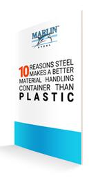 Material Handling Baskets Steel vs Plastic