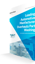 Automotive Manufacturer Overhauls Part Washing