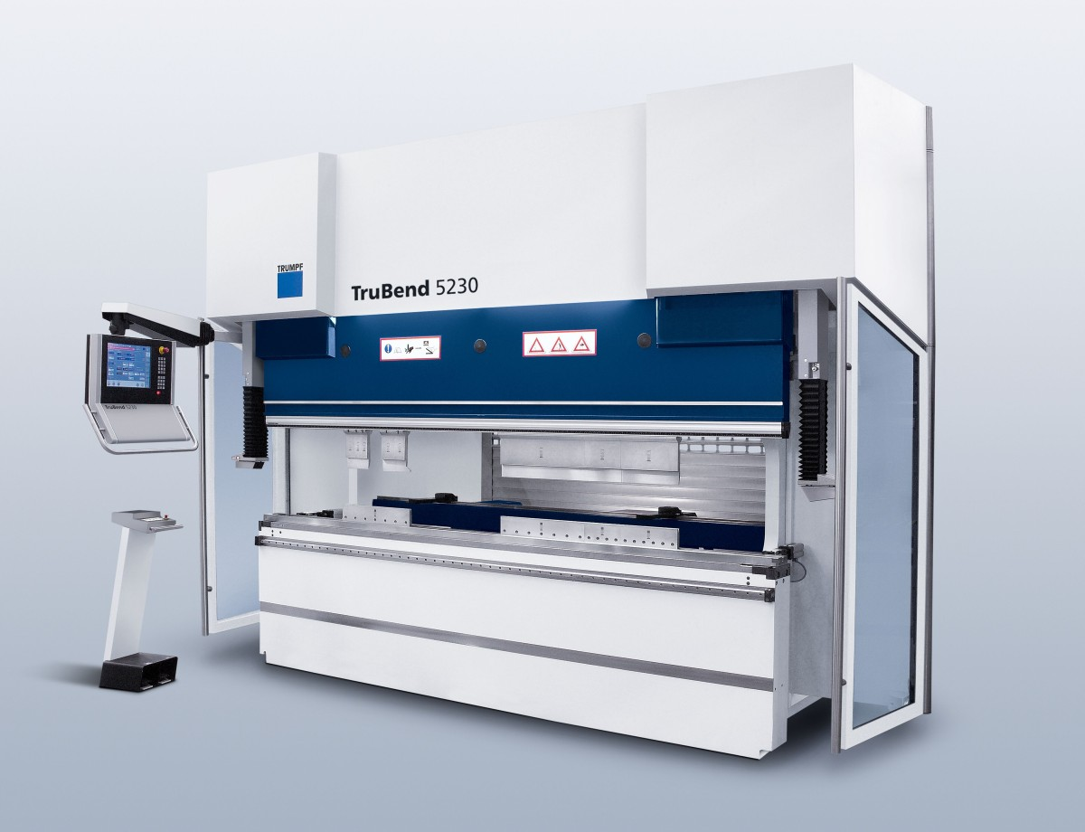 Bend Difficult Parts with Ease with the TruBend 5230 Press Brake