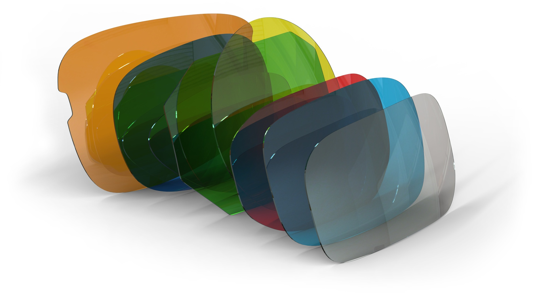Glass lenses come in a variety of shapes and sizes, and the basket's design needed to reflect this.