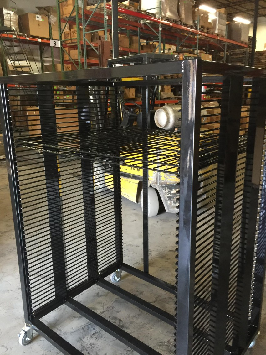 Mobile Wire Carts for Custom Manufacturing Applications