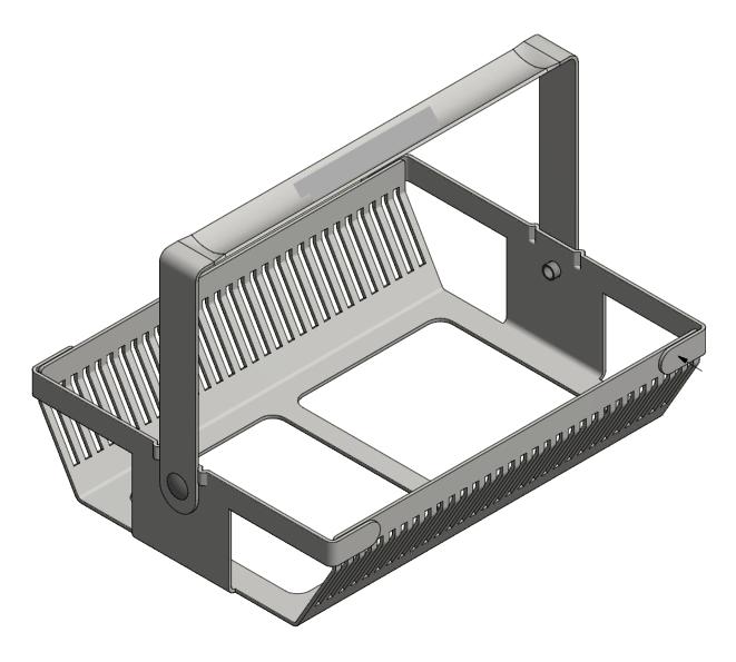 Custom Sheet Metal Slide Baskets for Medical Samples