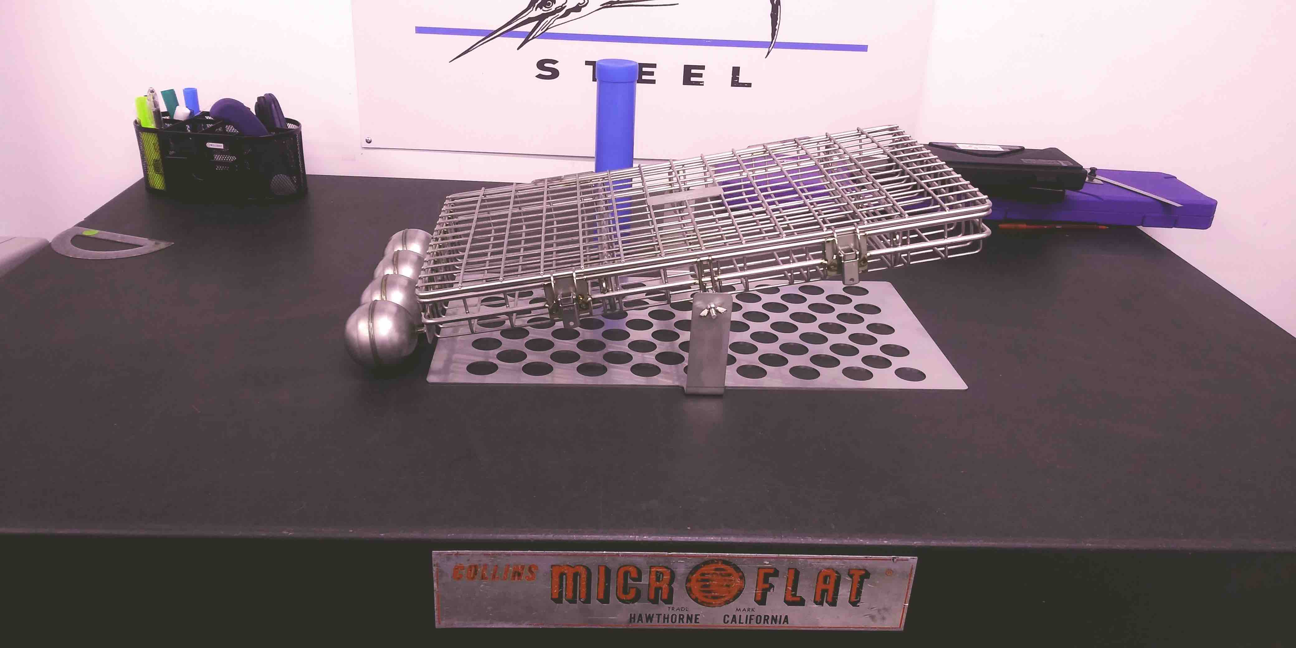 Improving Ultrasonic Parts Cleaning Baskets by Adding Floats
