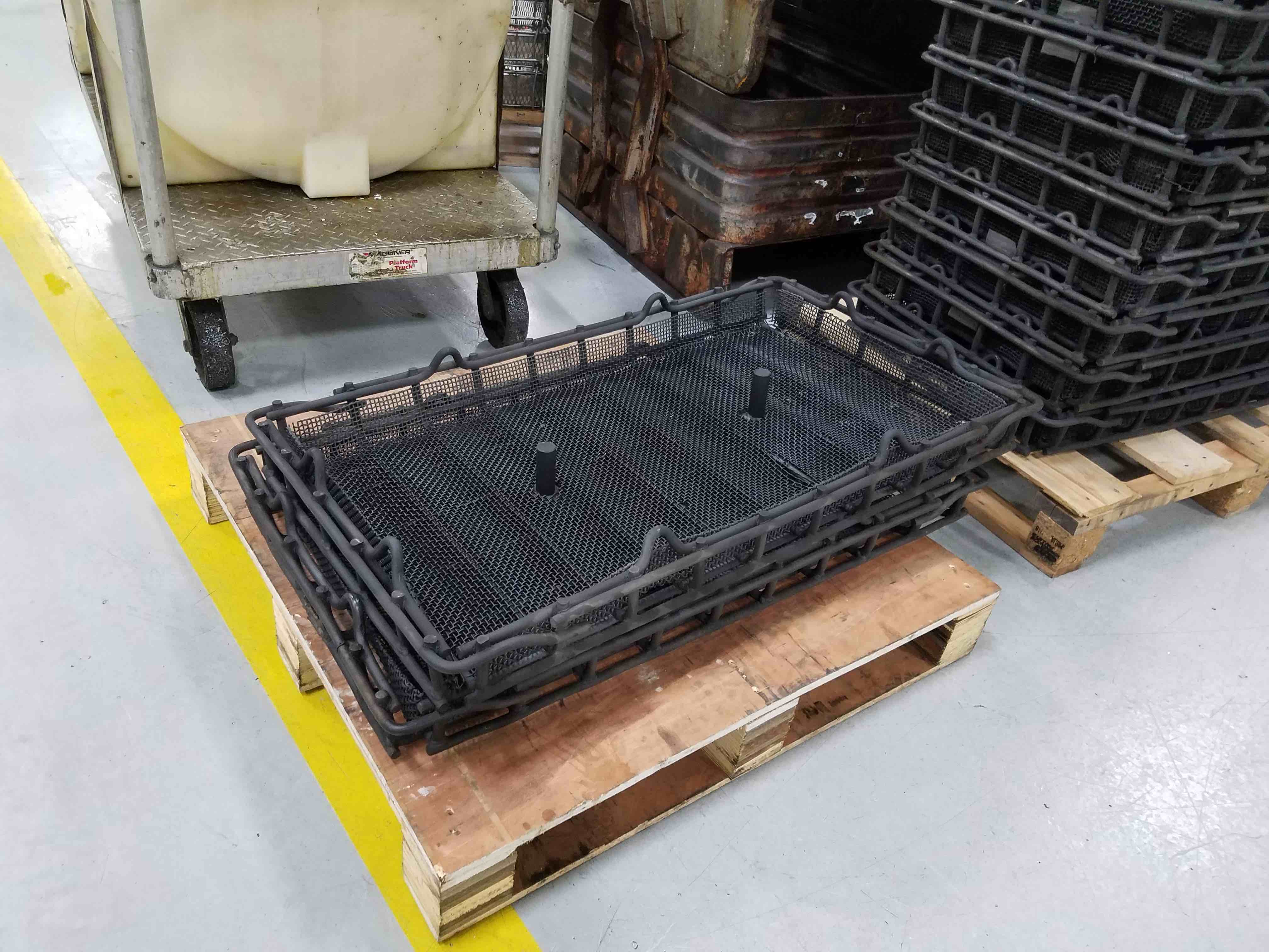 Making a Custom Stainless Steel Basket for Heat Treat & Degreasing