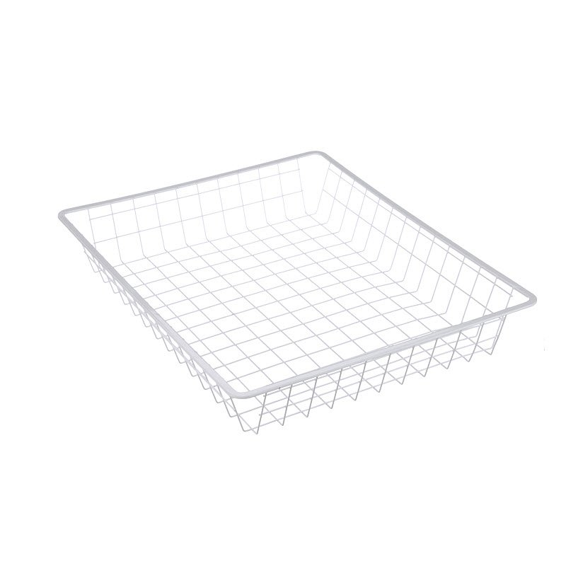 Custom Wire Baskets with Sheet Metal Tops for Smooth Sliding