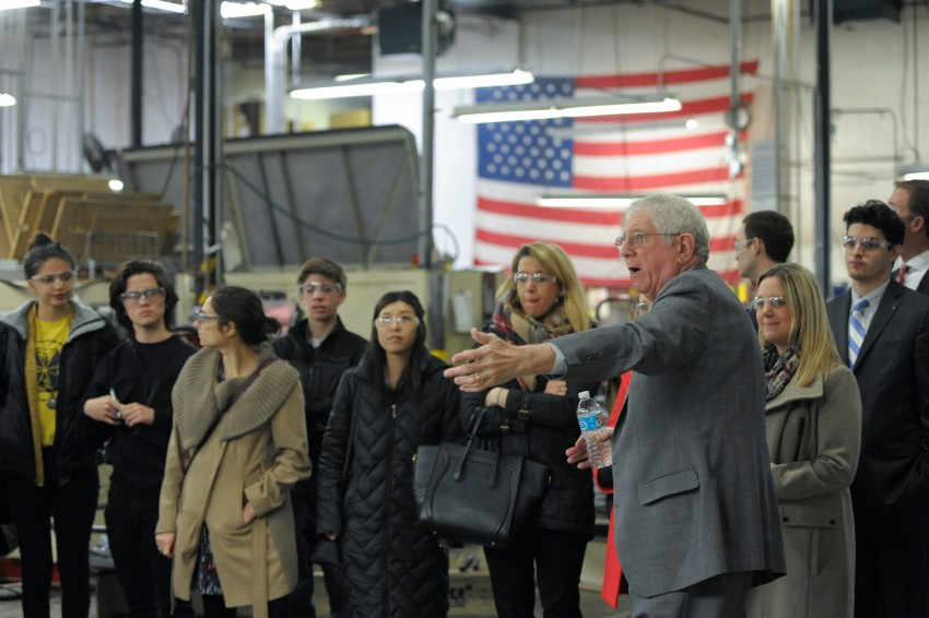 The National State of Manufacturing Tour at Marlin Steel Recap!