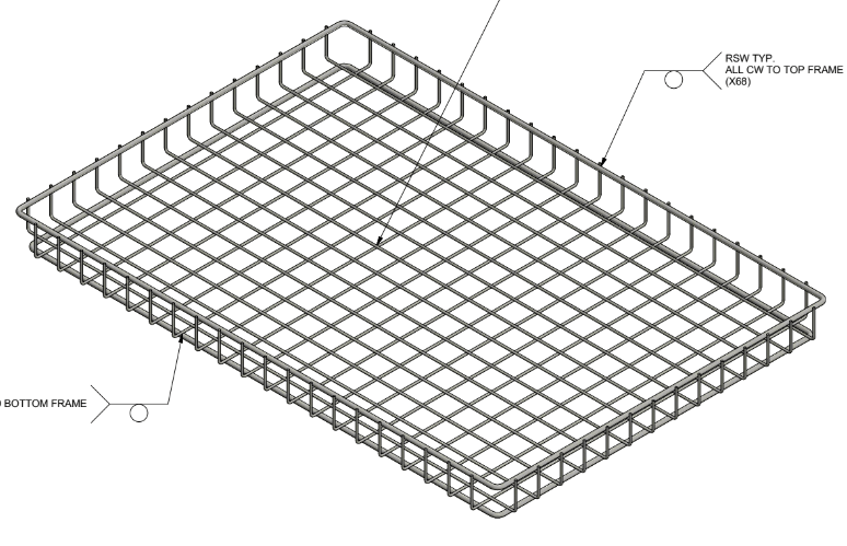 Stainless Steel Seafood Processing Basket for Mussel Harvesting