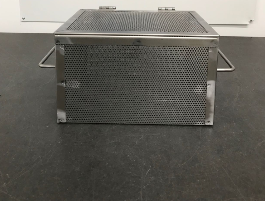 New In-Stock Grade 304 Stainless Steel Perforated Metal Baskets