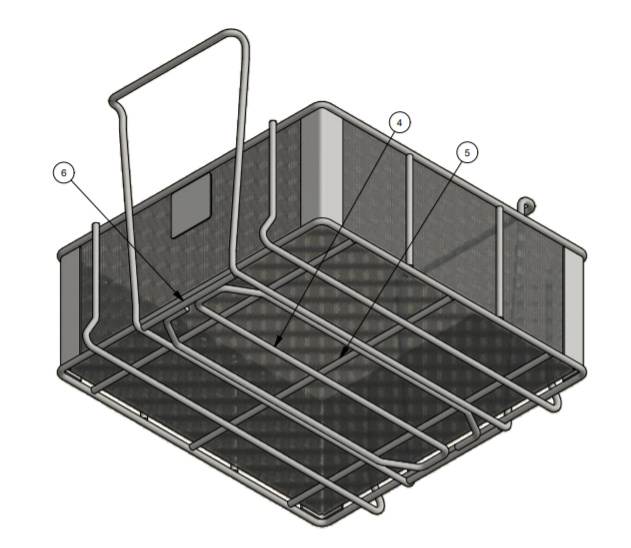 Replacing Wire Baskets with Handles for Aerospace Applications