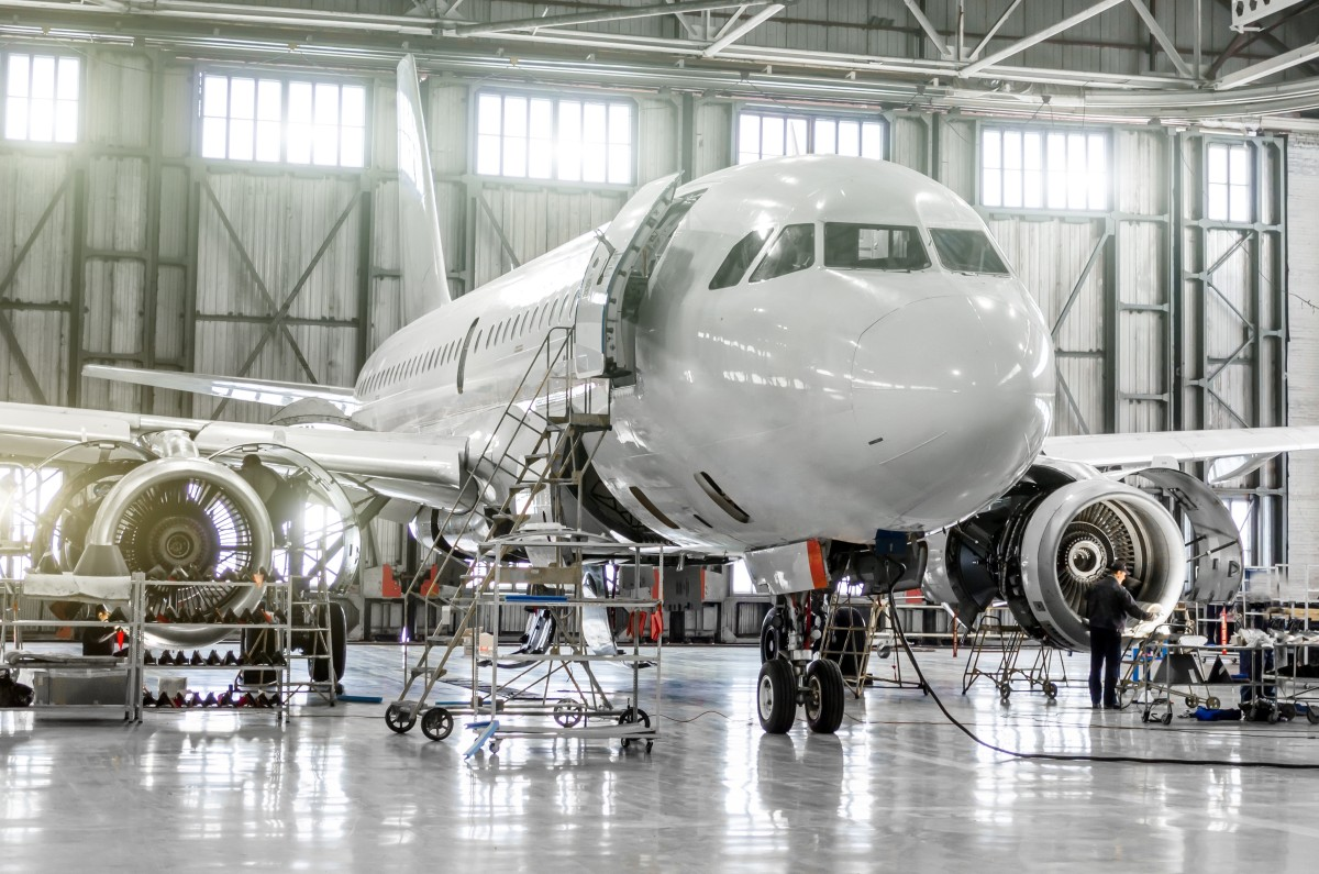 Improve Aircraft Maintenance, Inspection & Cleaning with Stainless Steel Baskets