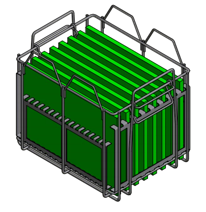 Need to Stack with Existing Wire Baskets? Marlin's Got You Covered