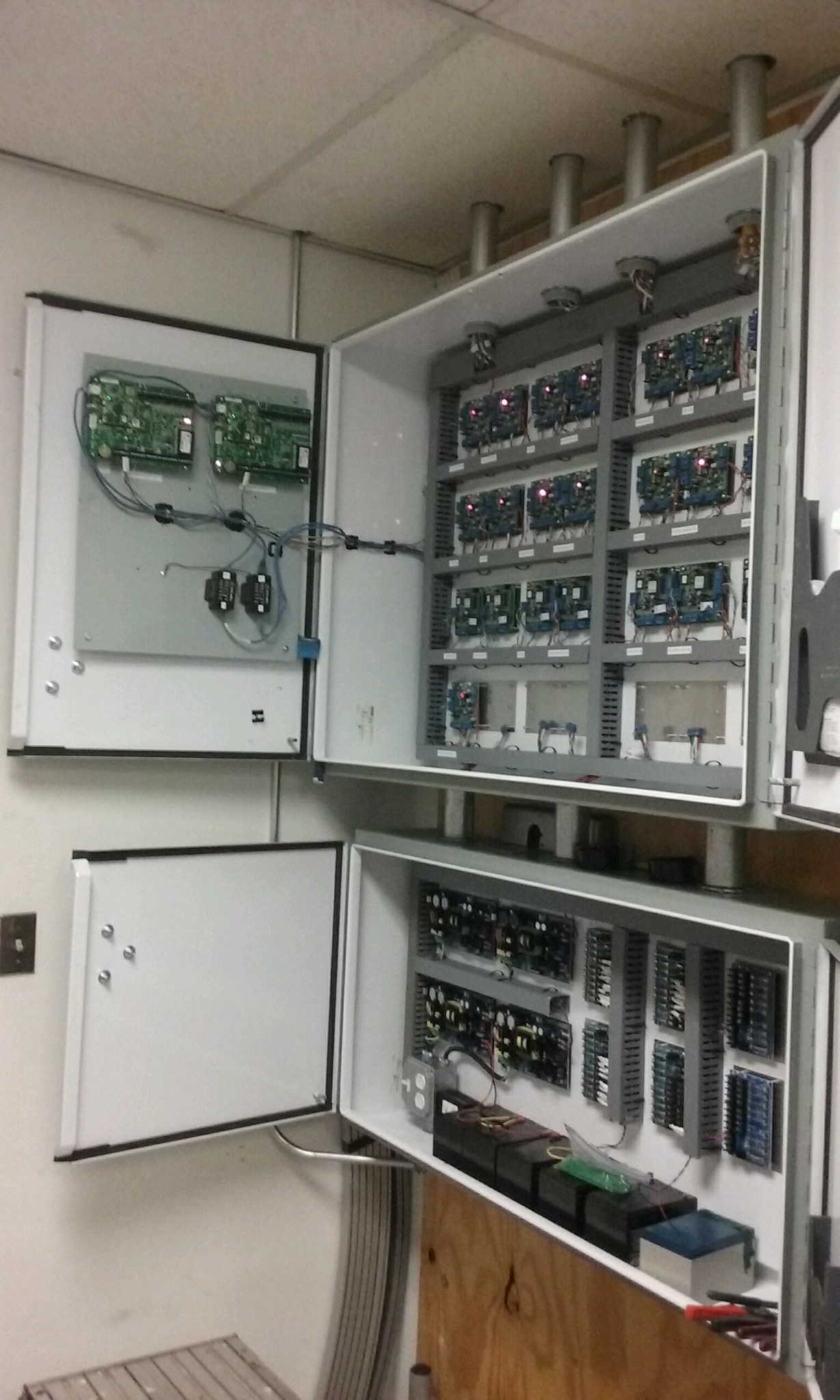 Keeping Telecom Organized with Custom Wall Plate Mounts