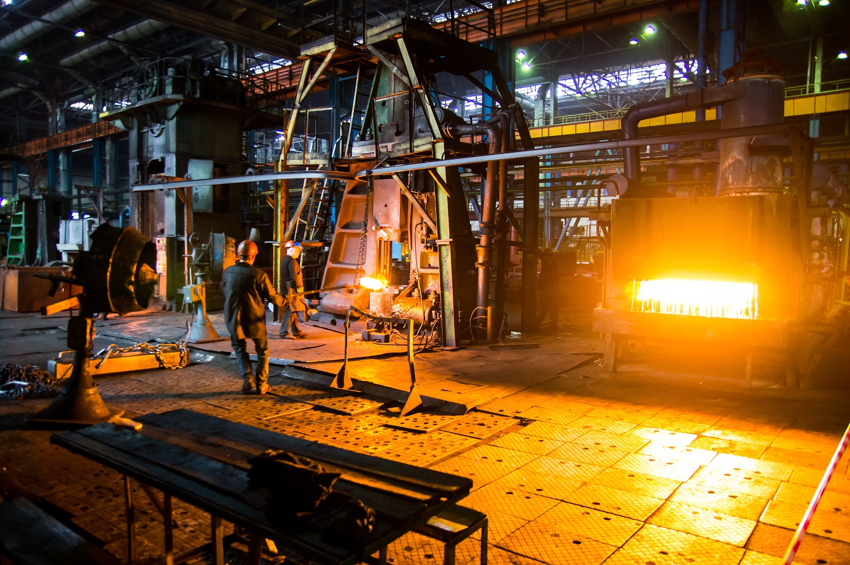 Some operations and processes are just too hot for even steel.