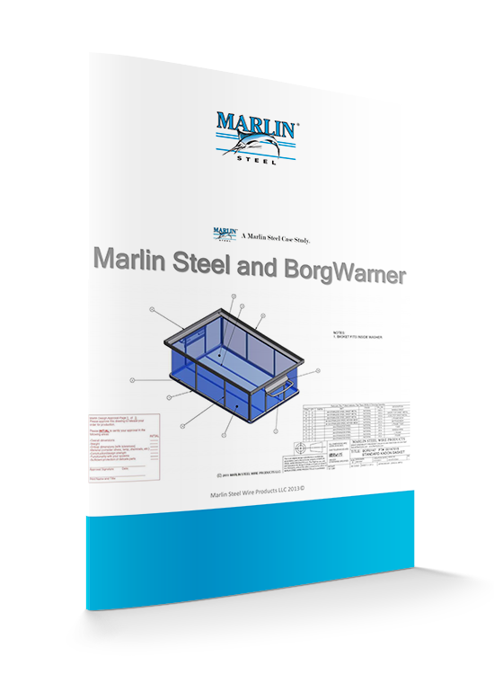 BorgWarner and Marlin Steel