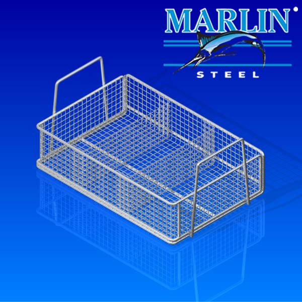 Reduce Damage During Parts Washing with Custom Wire Baskets
