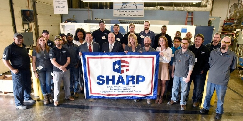 Maryland Governor Larry Hogan Visits Marlin Steel!