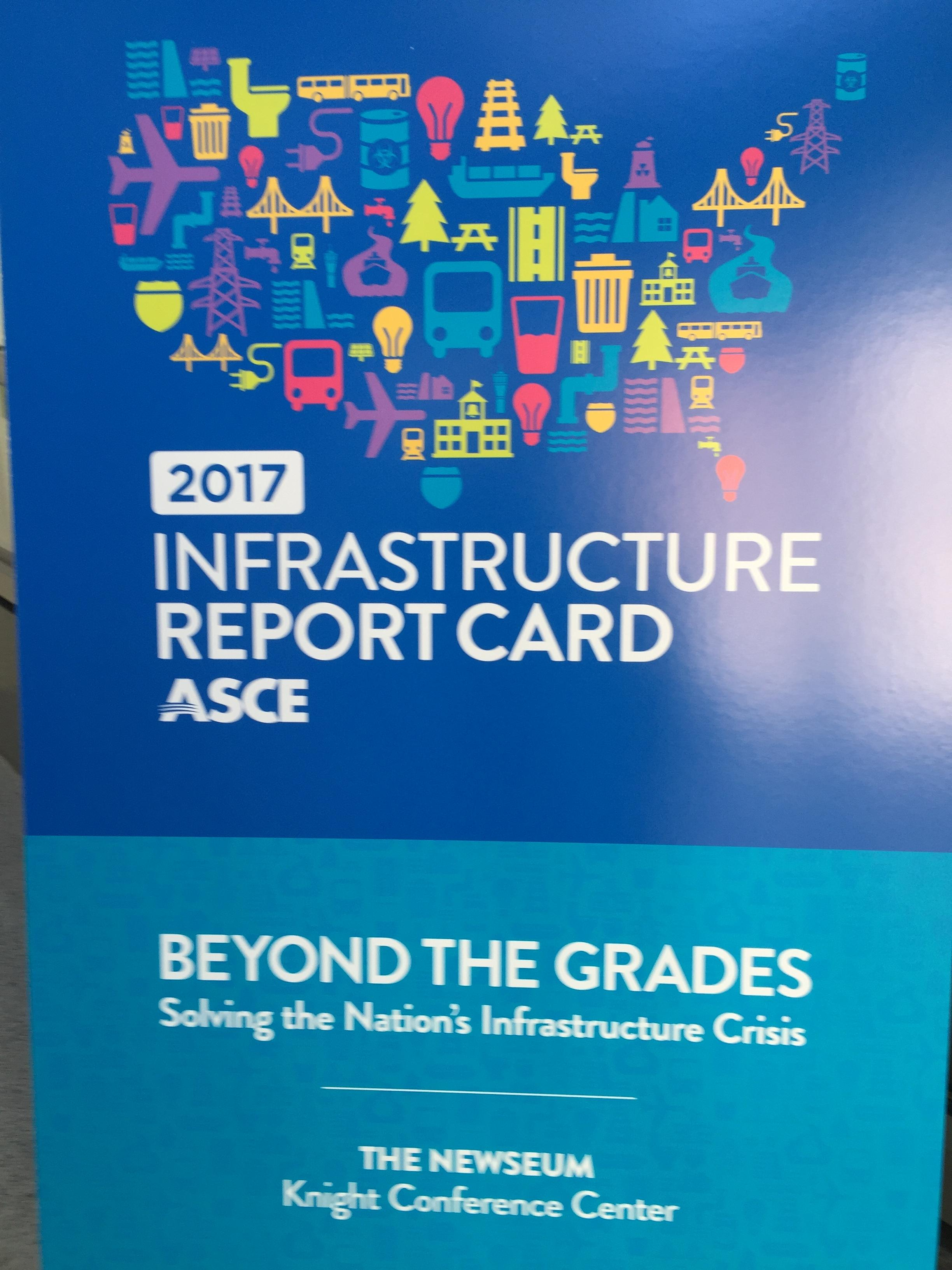 ASCE Infrastructure Report Card 2017